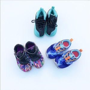 Kids Size 8 Nike/ Jordan Lot